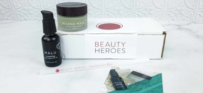 Beauty Heroes June 2018 Subscription Box Review