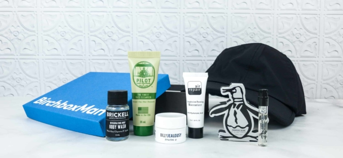 Birchbox Man June 2018 Subscription Box Review & Coupon