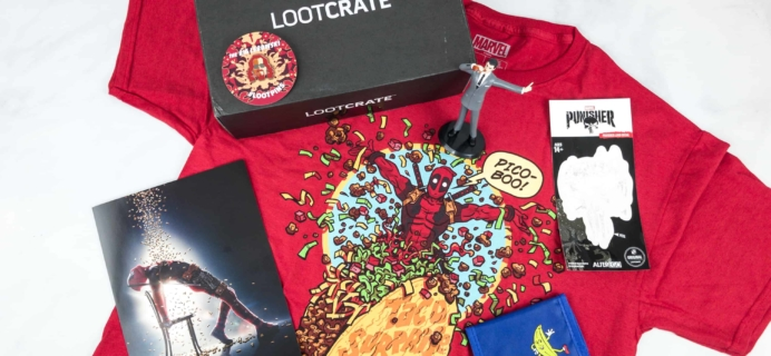 Loot Crate May 2018 Review + Coupons – ROLE MODELS!