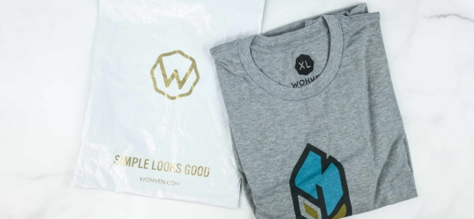 Wohven T-Shirt Subscription Review – May 2018