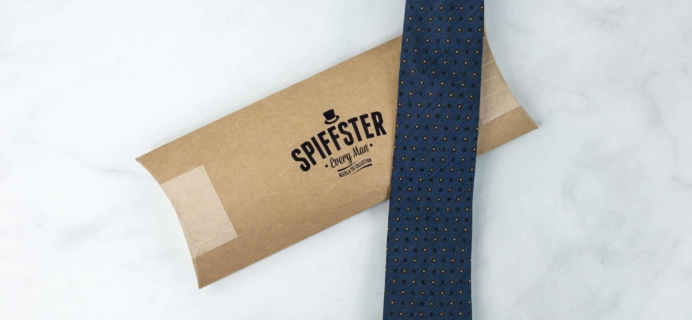 Spiffster Silk Tie May 2018 Subscription Box Review