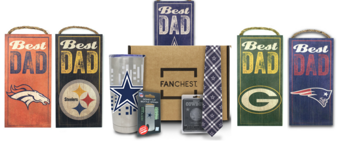 Fanchest NFL Dad Appreciation Day Coupon: Get 15% Off NFL Chests – TODAY ONLY!