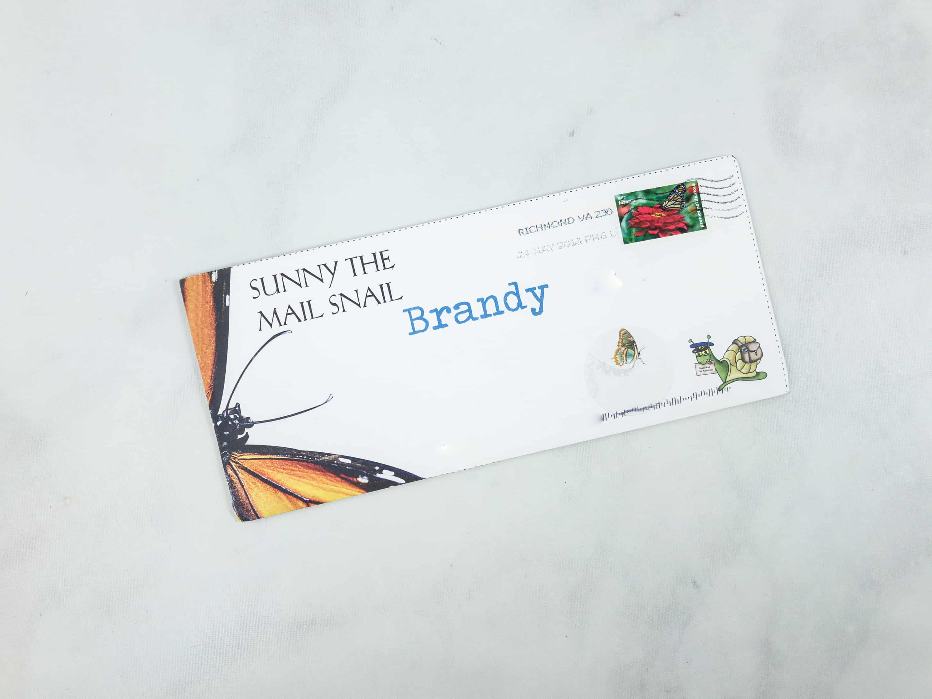 Snail Mail for Kids June 2018 Subscription Box Review - WEEK 1 ...
