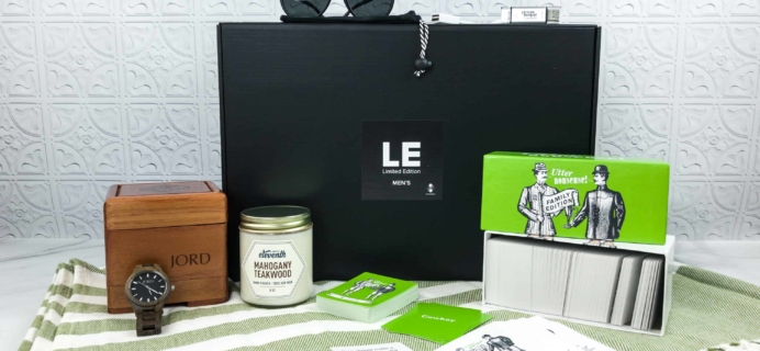 Sugarbash Limited Edition Men's Box Review