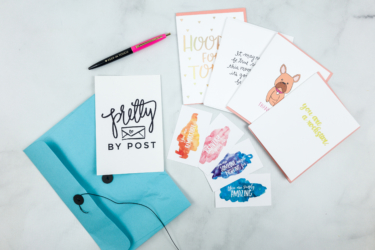 Pretty By Post Greeting Card Subscription Black Friday Deal: Free lifetime shipping on any subscription