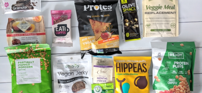 Vegan Cuts Snack Box May 2018 Subscription Box Review