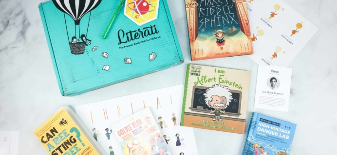 Literati Club Sage Box Review – May 2018