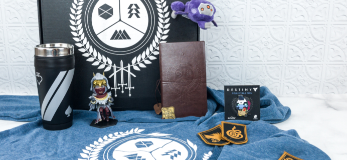 Loot Crate Destiny 2 Limited Edition Crate Review