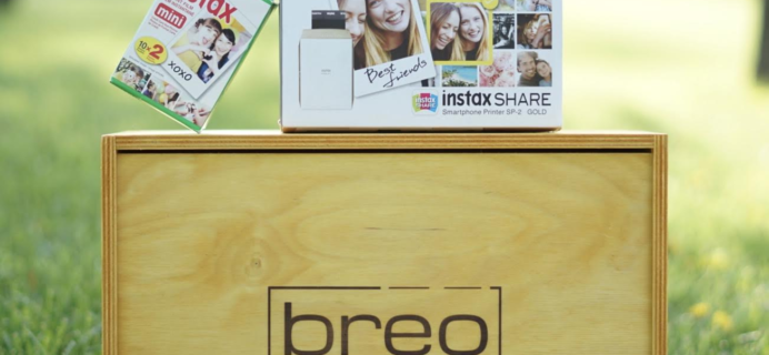 Breo Box July 4th Flash Sale Coupon: FREE Fujifilm Instax SHARE SP-2 Printer + $10 Off!