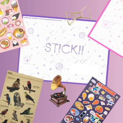 Stickii Sticker Subscription October 2019 Spoilers!