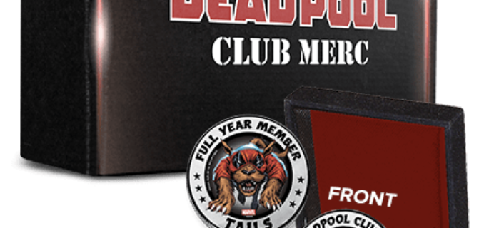 Deadpool Club Merc Deal: FREE Challenge Coin With Annual Subscription!