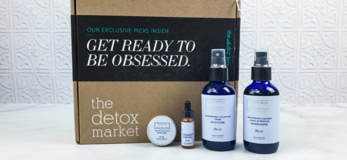 The Detox Box Subscription Box Review – June 2018