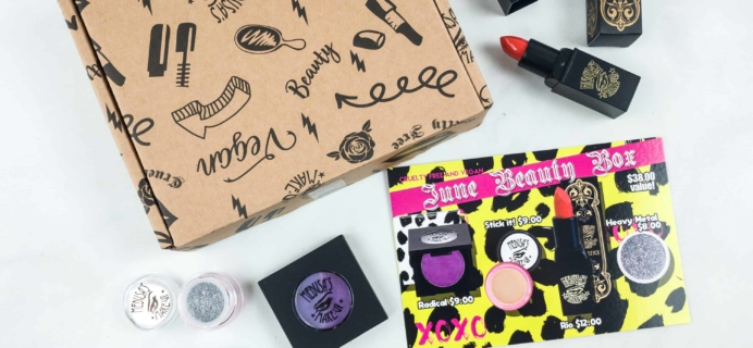Medusa's MakeUp Beauty Box Subscription Box Review – June 2018