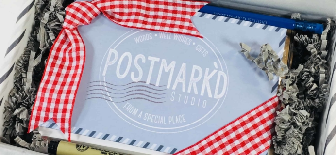 PostBox Subscription Box Review + Coupon – June 2018