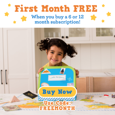Little Passports Coupon: First Month FREE with 6+ Month Subscription!