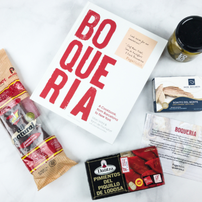 PageHabit Cookbook Quarterly Summer 2018 Subscription Box Review
