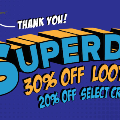 Loot Crate Coupon: Get 30% Off + 20% Off Select Other Crates! LAST DAY!