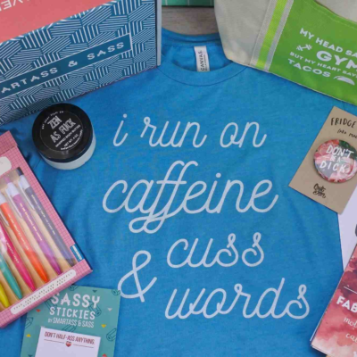 Smartass + Sass Box Cyber Monday Coupon: Get 20% Off Subscriptions!