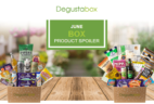 Degustabox UK June 2018 Spoiler – First Box £7.99 + Free Gift!