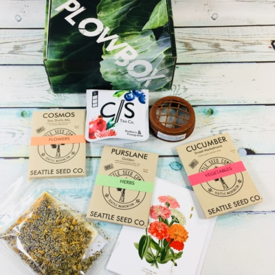 Plowbox Summer 2018 Gardening Subscription Box Review + Coupon