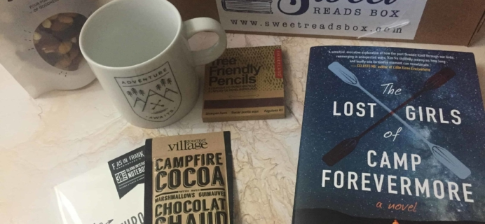 Sweet Reads Box June 2018 Subscription Box Review + Coupon