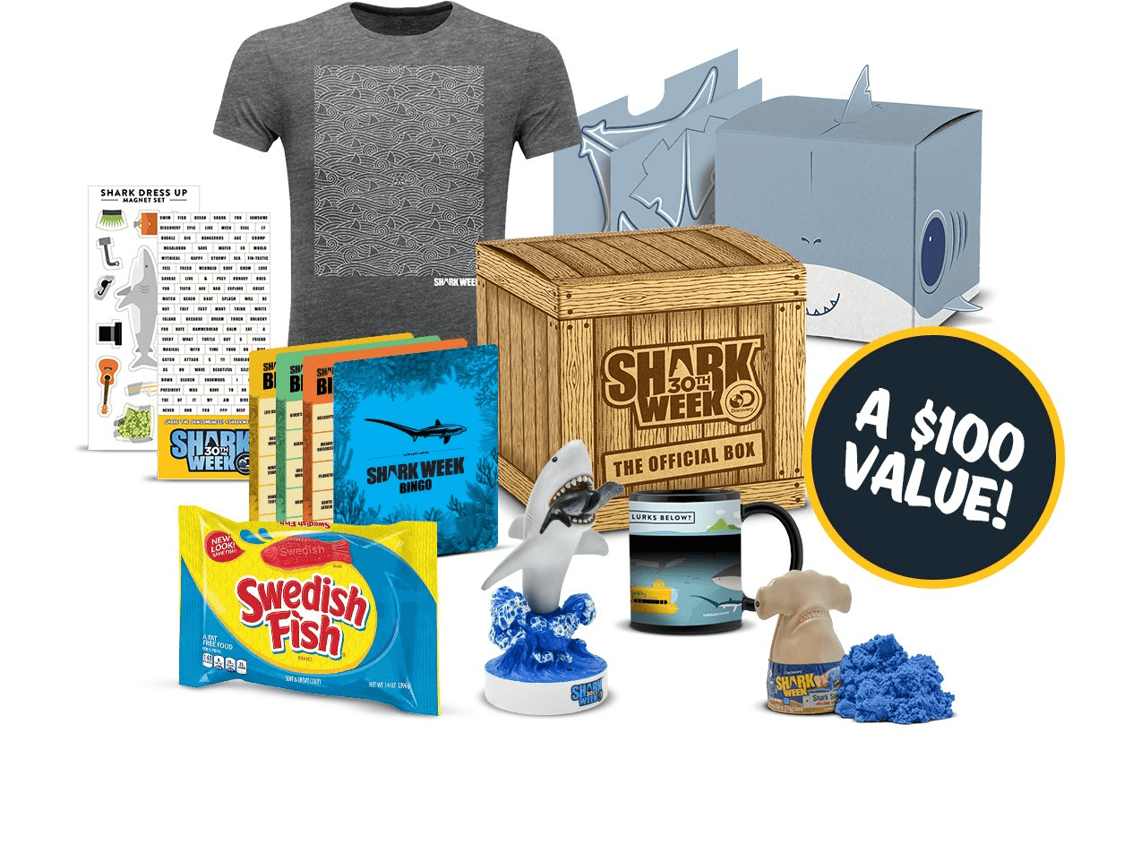 The Official Shark Week Box Now Available On Amazon! - hello