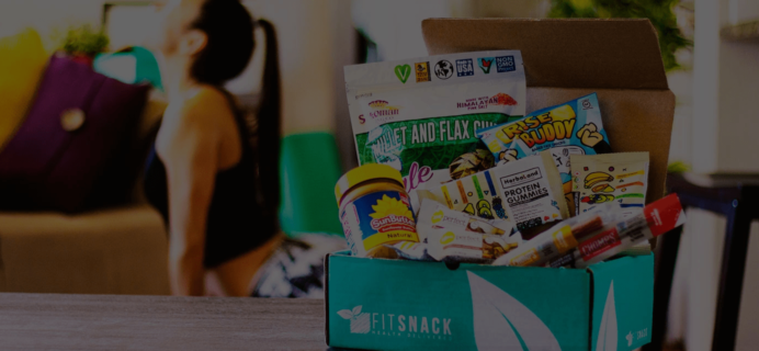 Fit Snack August 2018 Spoiler + Coupon
