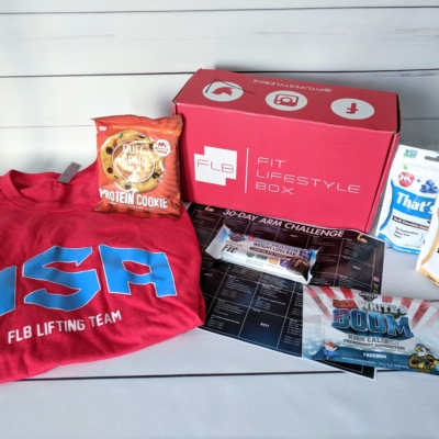 Fit Lifestyle Box Subscription Review – June 2018