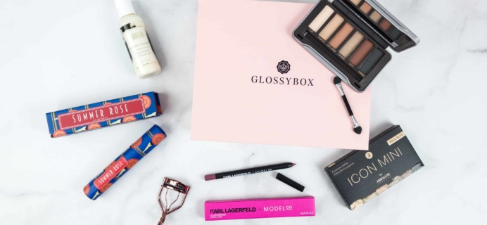 June 2018 GLOSSYBOX Subscription Box Review