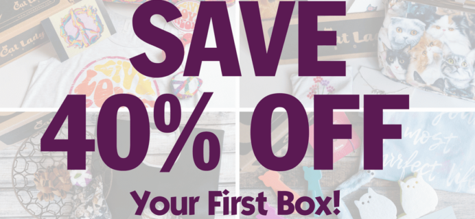 Cat Lady Box Deal: Get 40% Off Your First Box – 2 Days Left!