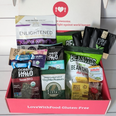 Love With Food Gluten-Free June 2018 Subscription Box Review + Coupon