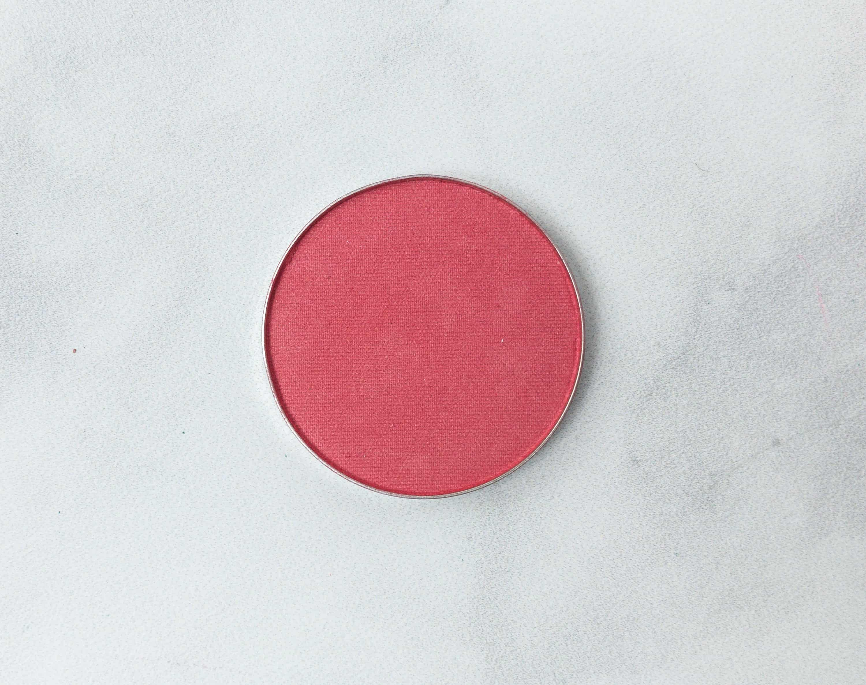 This Is A Bright Coral Matte Shade That Has Buildable