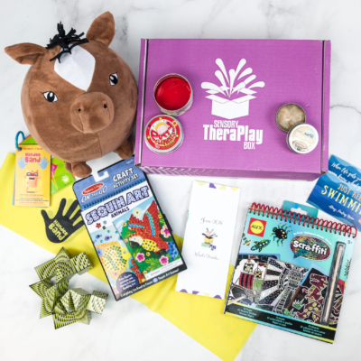 Sensory TheraPLAY Box June 2018 Subscription Box Review + Coupon