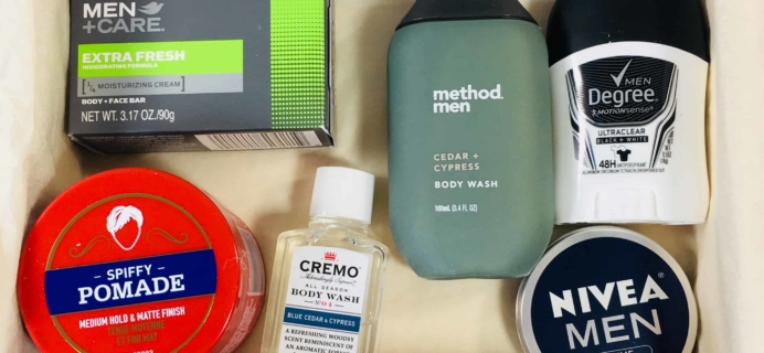 Target Box for Men Review June 2018