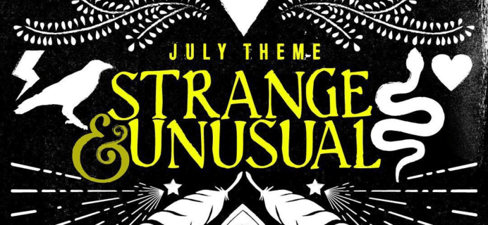 OwlCrate July 2018 Box Available Now + Coupon!