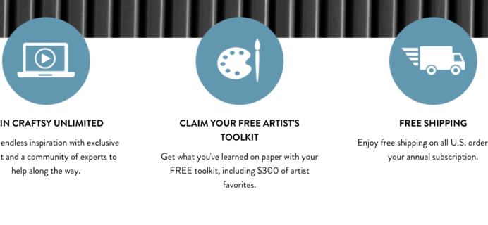 Craftsy Unlimited Coupon: Get Craftsy Unlimited Ultimate Art Package For Only $120!