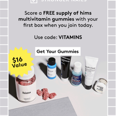 Birchbox Man Coupon: FREE Hims Vitamins with Subscription!