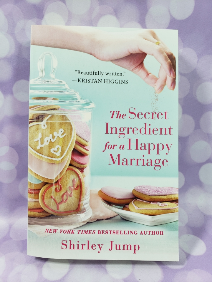Fresh fiction box may 2018 subscription box review coupon hello the secret ingredient for a happy marriage by shirley jump 1263 we all know that marriages can be lots of drama this is a family story rallying fandeluxe Choice Image