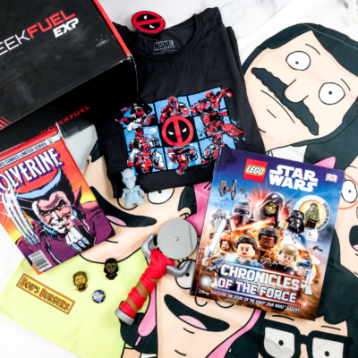 Geek Fuel EXP May 2018 Subscription Box Review – Volume 1