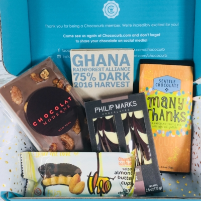 Chococurb Classic June 2018 Subscription Box Review