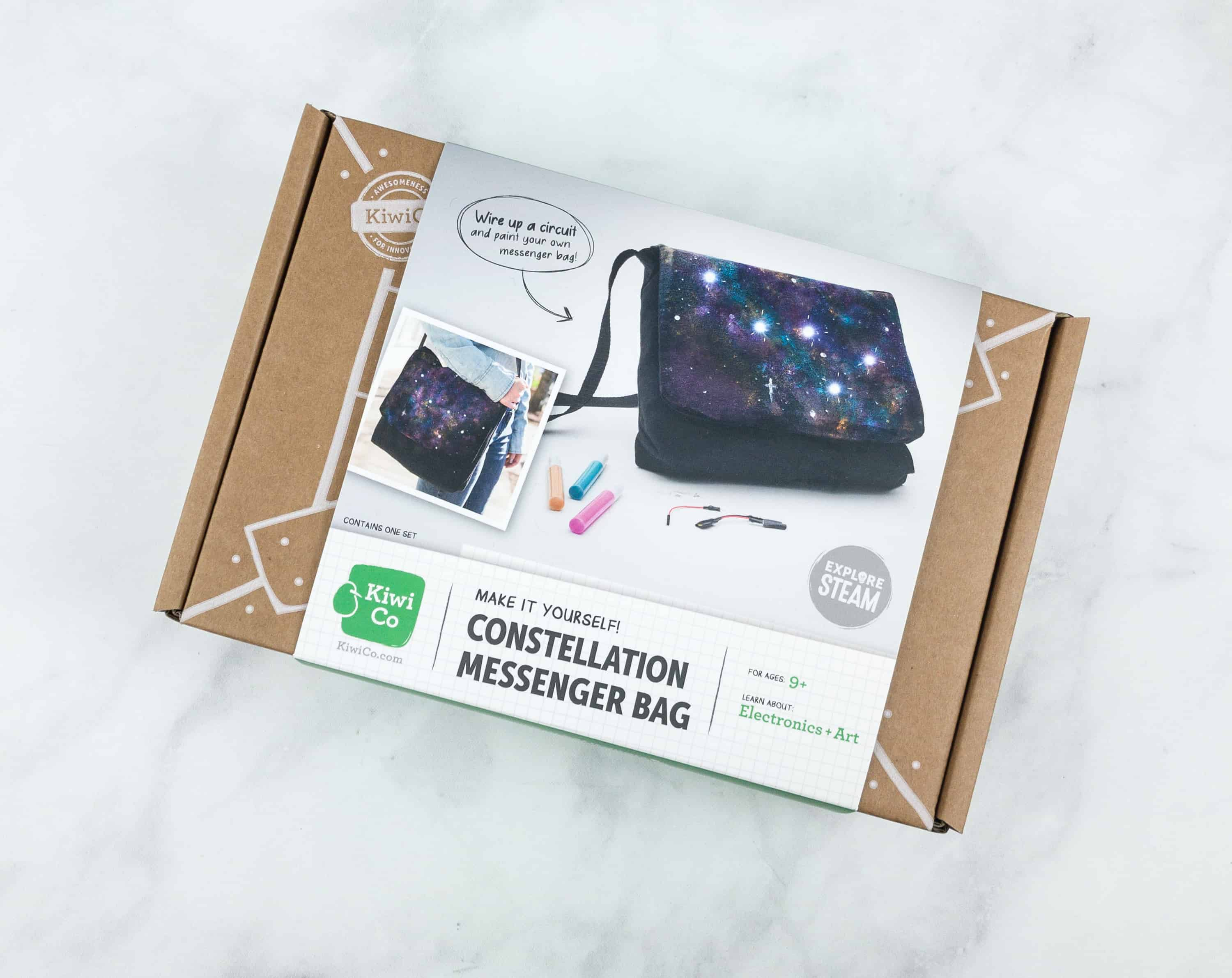 5615736e0d43 KiwiCo STEAM Review & Coupon - Constellation Messenger Bag - hello ...