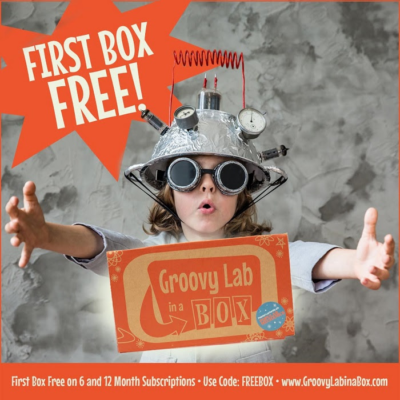 Groovy Lab In A Box Deal: Get Your First Box Free With 6 Or 12 Month Subscription!