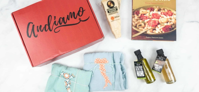 Andiamo June 2018 Subscription Box Review + Coupon