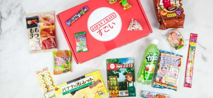 Japan Crate May 2018 Subscription Box Review + Coupon