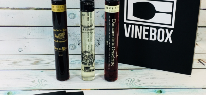 VINEBOX Subscription Box Review – June 2018