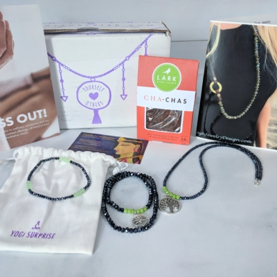 Yogi Surprise Jewelry Box Subscription Review + Coupon – June 2018
