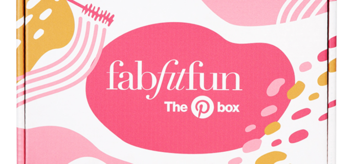 FabFitFun Pinterest Box Available Now + Full Spoilers!