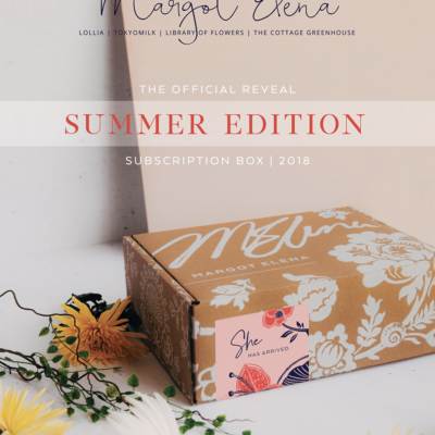 Summer 2018 Margot Elena Discovery Box Full Spoilers!