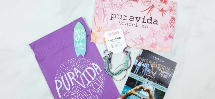 Pura Vida Monthly Club June 2018 Subscription Box Review