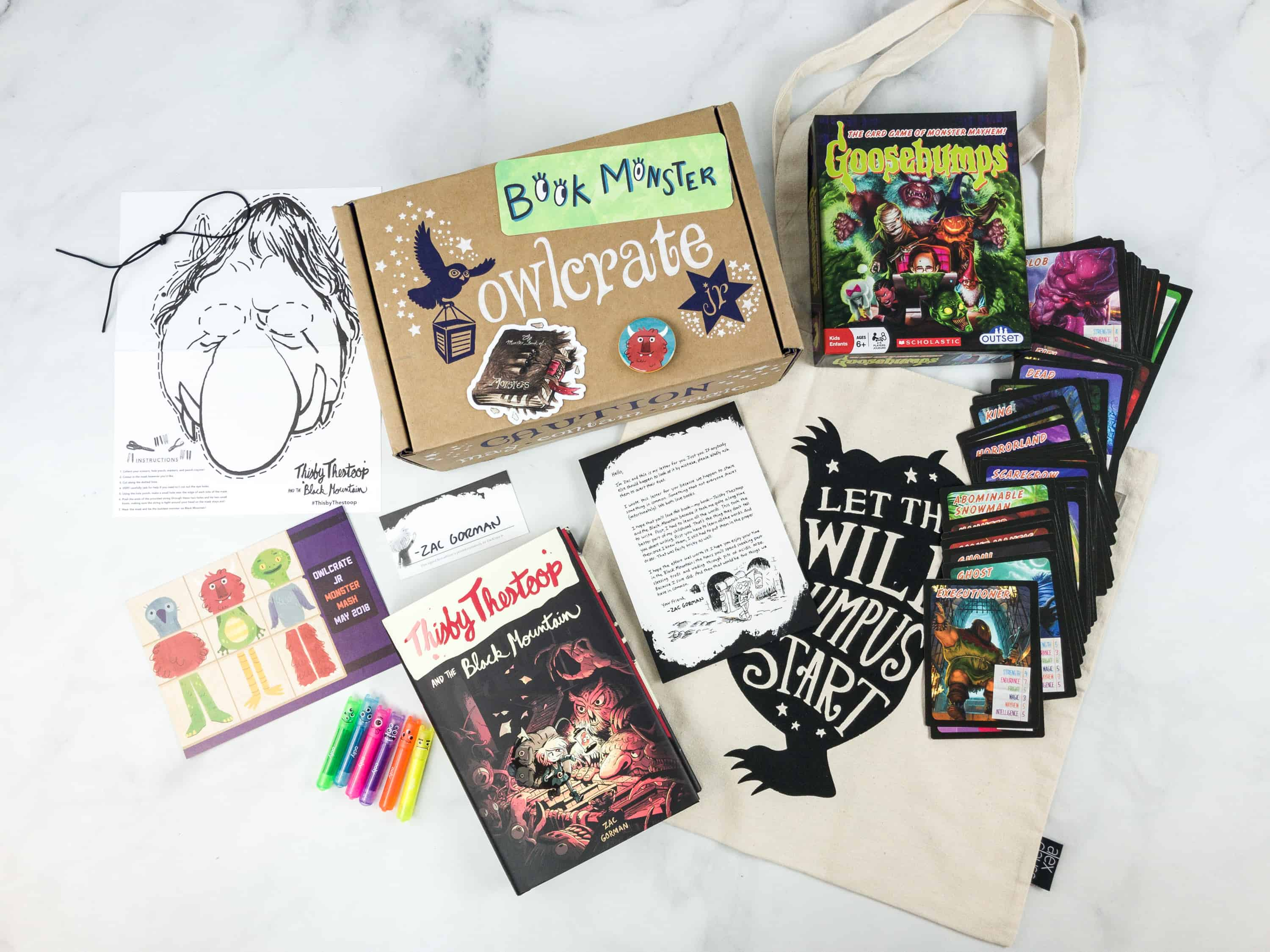 OwlCrate Jr. May 2018 Box Review & Coupon